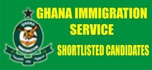 Ghana Immigration Service Recruitment Updates 2018