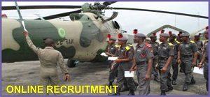 Nigerian Air Force Recruitment 2018