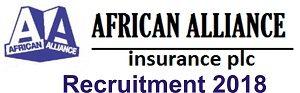 African Alliance Insurance Recruitment 2018