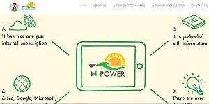 Npower 2018 Recruitment Application Form