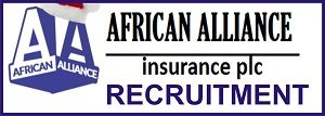 African Alliance Insurance Plc Jobs Recruitment May/June 2018