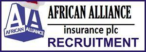 African Alliance Insurance Plc Jobs Recruitment May/June 2018