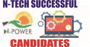 2018 Npower Tech Pre-selected Applicants
