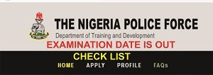 Police Recruitment Examination List of Shortlisted Candidates