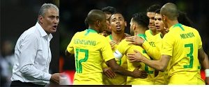 Brazil World cup Squad for Russia 2018