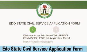 Recruitment into Edo State Civil Service Commission