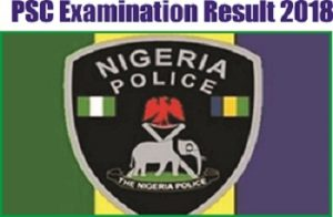 Police Recruitment JAMB Examination Result 2018