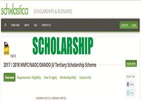 Nigerian Agip Oil Company Limited Undergraduates Scholarship 2018/2019