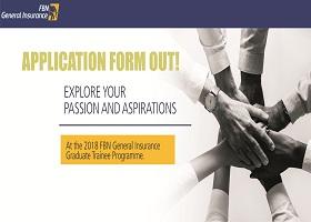 2018 FBN General Insurance Graduates Trainee Application Form