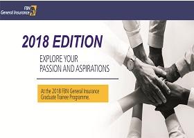 FBN General Insurance Graduates Trainee Programme 2018