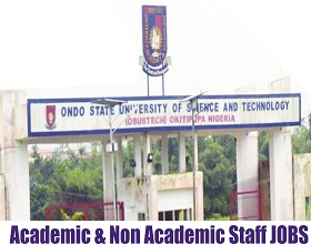 Ondo State University of Science and Technology Jobs Enlistment