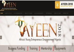 African's Young Entrepreneurs Empowerment Nigeria (AYEEN) shortlisted Candidates