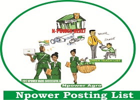 Npower Posting List June/July 2018