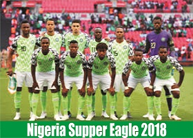 Full List of Nigeria Supper Eagle 23 man Player for 2018 FIFA World Cup in Russia