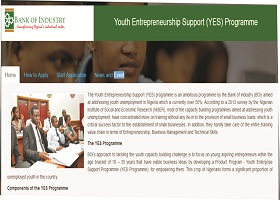 Youth Entrepreneurship Support (YES) Programme 2018/2019