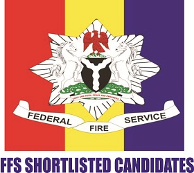Federal Fire Service list of Successful Shortlisted Candidates