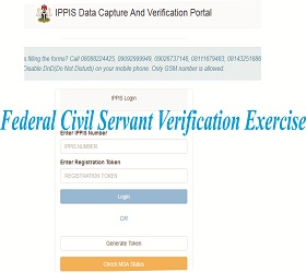 Federal Civil Servant Verification Exercise