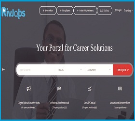 rivjobs portal for career solution upload your cv login here