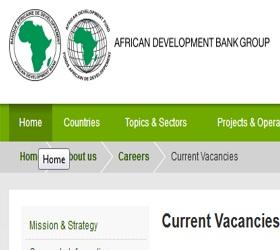 African Development Bank Group (AfDB) Recruitment 2018