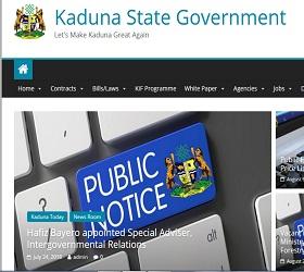 Kaduna State Civil Service Recruitment 2018