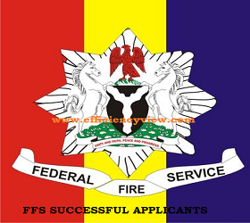 Federal Fire Service Recruitment Shortlisted Candidates 2018/2019