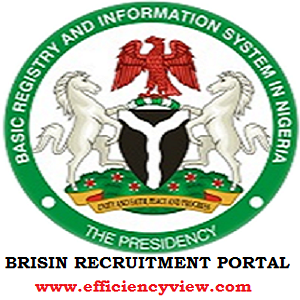 FCT BRISIN Recruitment Application Form