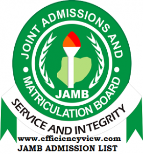 JAMB Admission List for 200,000 Candidates in various Institutions via CAPS