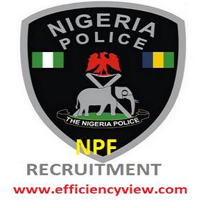 Nigerian Police Force (NPF) Constable Recruitment