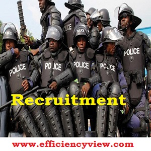 Police Recruitment Update 2019