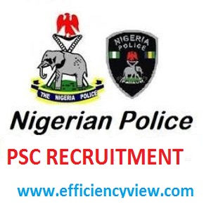 Police Service Commission (PSC) Recruitment