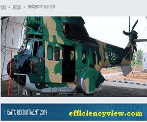 Nigerian Air Force (NAF) BMTC Recruitment January/February 2019