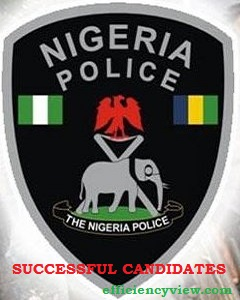 Nigerian Police Force (NPF) Constables Recruitment Shortlisted Candidates 2019