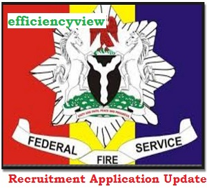 Photo of Federal Fire Service Recruitment Application Form Update 2020/2021