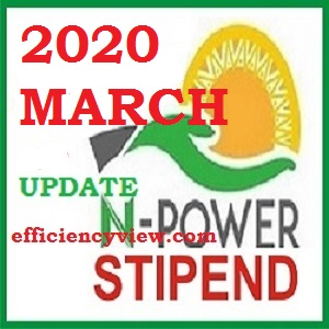Photo of Latest News for March 2020 Npower Stipends Payment for Beneficiaries