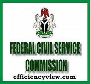Federal Civil Service Commission (FCSC) Recruitment Form