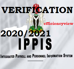 2020/2021 IPPIS data capture/ Verification Portal for FRSC/Lecturers/Police/MDAs Workers