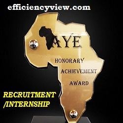Photo of Africa's Young Entrepreneur (AYE) Recruitment/Internship Program 2020/2021; Apply here