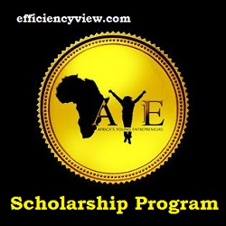 Photo of Africa's Young Entrepreneur (AYE) Scholarship Program 2020/2021 apply here