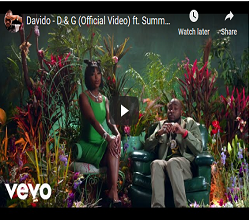 Photo of Watch Davido new released Dolce & Gabanna' song features Summer Walker see full video here