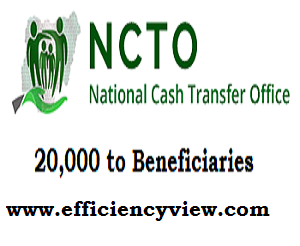 Federal Government Conditional Cash Transfers Scheme 2020/2021