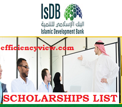 Photo of Islamic Development Bank (IsDB) Scholarships Shortlisted Candidates 2020/2021