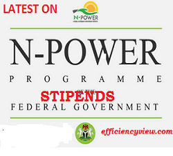 Npower March Stipends 2020 Payment for all Beneficiaries Started today
