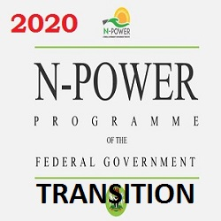 Npower Beneficiaries Transition Page Portal 2020
