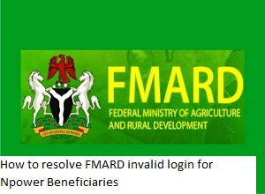 Photo of How to resolve FMARD Pace Test Login issues – FMARD invalid login for Npower Beneficiaries