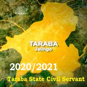 Photo of Taraba State Civil Service Recruitment Application Form Portal 2020-2021