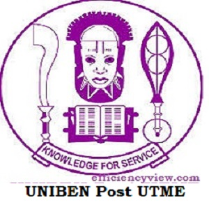 UNIBEN Post UTME Admission Form login portal