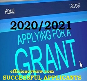Photo of Federal Government Grant List of Successful Beneficiaries 2020-2021