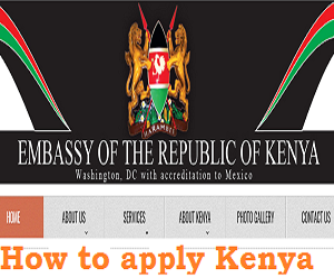 Photo of How to apply and download Kenya Visa Application Form online: see Requirements here