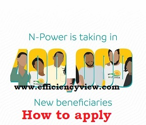 How to apply/register for Npower 2020 Recruitment and upload passport successfully